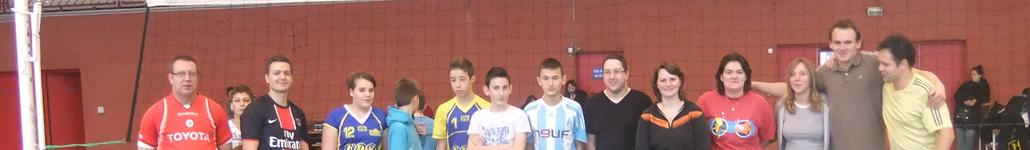 Tournoi de volley ball novembre 2012